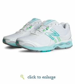 WW1765WT by New Balance (White/Green)