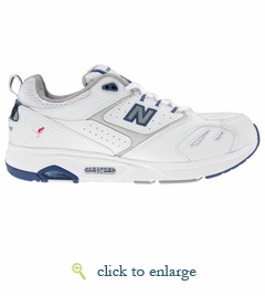 WW845WB by New Balance (White/Blue)
