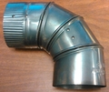 "4"" Pipe Knee, Adjustable"