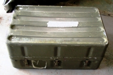 Aluminum Medical Transport Chest 13 1/2 H x 19 1/4 W x 31 1/4 L