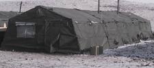 Frame Type Expendable Squad Tent (Canvas)