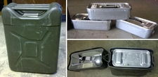 German Mermite Food Container, 4 Gallon - 3 parts