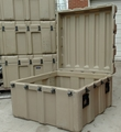 "Hardig 38"" Hinged Transport Case"