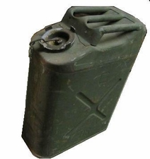 Jerry Can 5gal, US GI Metal