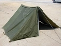 Pup Tent, Shelter Halves. Complete