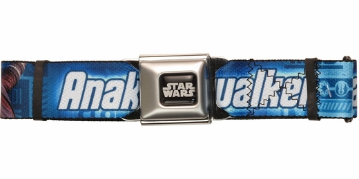 Star Wars Anakin Clone Wars Seatbelt Belt