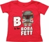 Star Wars B is For Boba Fett Toddler T-Shirt