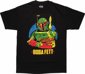 Star Wars Boba Fett Pose T-Shirt