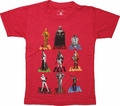 Star Wars Characters and Names Juvenile T-Shirt