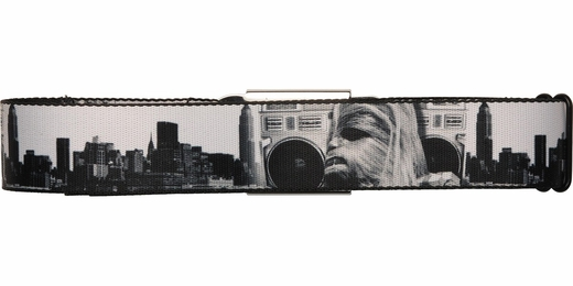 Star Wars Chewbacca Boombox City Seatbelt Mesh Belt