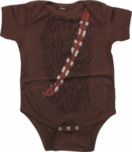 Star Wars Chewbacca Costume Snap Suit