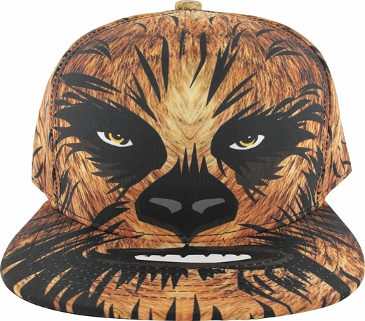 Star Wars Chewbacca Face Sublimated Youth Hat