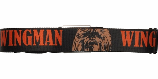 Star Wars Chewbacca Orange Wingman Seatbelt Mesh Belt