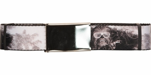 Star Wars Chewbacca Palms Wide Mesh Belt