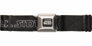 Star Wars Come to the Dark Side Seatbelt Belt