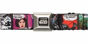 Star Wars Comic Blocks Seatbelt Belt