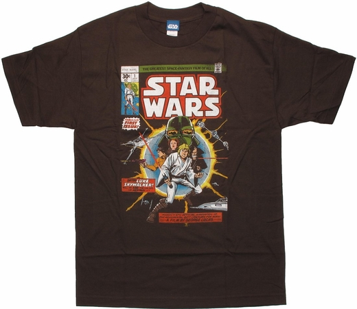 Star Wars Comic First Issue T Shirt