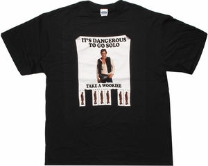 Star Wars Dangerous Solo Ad T Shirt