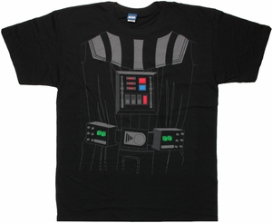 Star Wars Darth Vader Costume Suit T Shirt