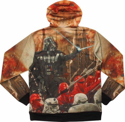 Star Wars Darth Vader Epic Lord Sublimated Hoodie