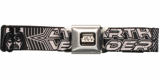 Star Wars Darth Vader Lines Seatbelt Mesh Belt
