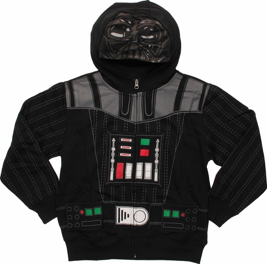 Star Wars Darth Vader Masked Youth Hoodie