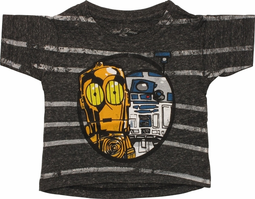 Star Wars Droids Striped Infant T-Shirt
