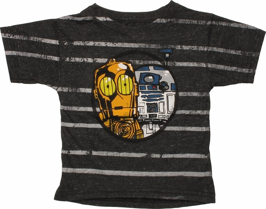 Star Wars Droids Striped Toddler T-Shirt