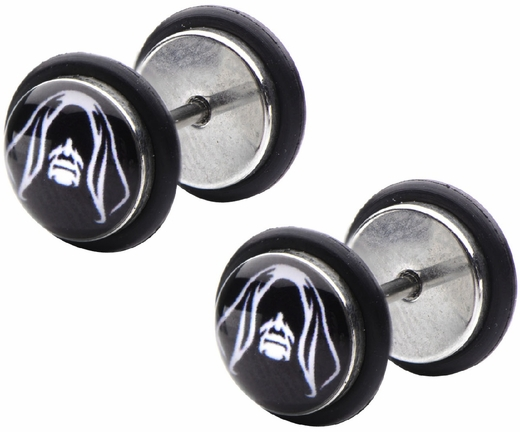 Star Wars Emperor Palpatine Screw Back Earrings