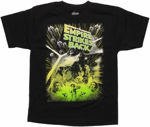 Star Wars Empire Green Blast Youth T Shirt