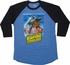 Star Wars Empire Strikes Back Poster Raglan T-Shirt Sheer