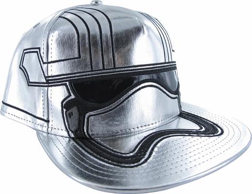 Star Wars Force Awakens Captain Phasma Face Hat