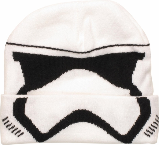 Star Wars Force Awakens Stormtrooper Face Beanie