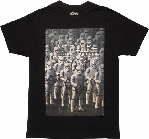 Star Wars Force Awakens Stormtroopers MF T-Shirt