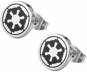 Star Wars Galactic Empire Logo Stud Earrings