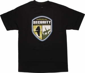 Star Wars Imperial Security Endor Division T-Shirt
