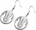 Star Wars Jedi Order Hook Dangle Earrings