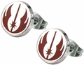 Star Wars Jedi Order Symbol Enamel Stud Earrings