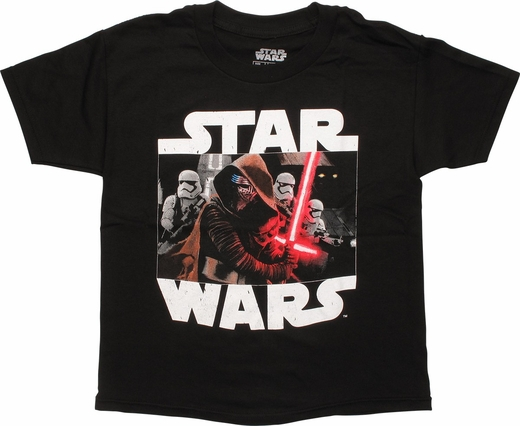 Star Wars Kylo and Stormtroopers Youth T-Shirt