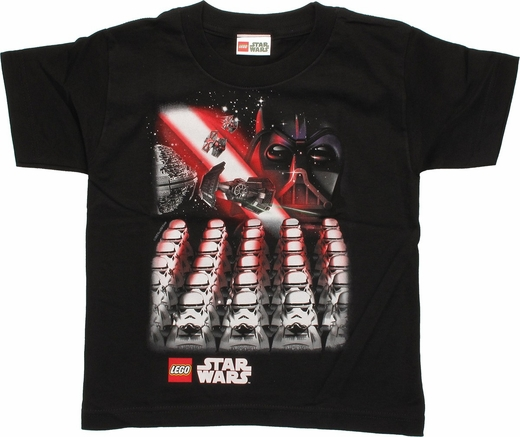 Star Wars Lego Trooper Army Juvenile T Shirt