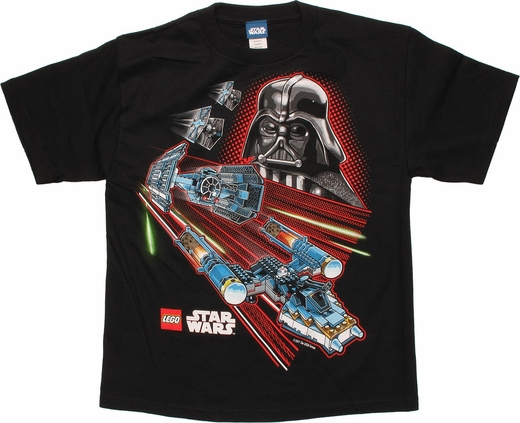 Star Wars Lego Vader Look Youth T Shirt