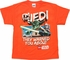 Star Wars Lego Yoda Jedi Warned Orange Youth T Shirt