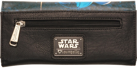 Star Wars Luke and Leia Poster Clutch Wallet