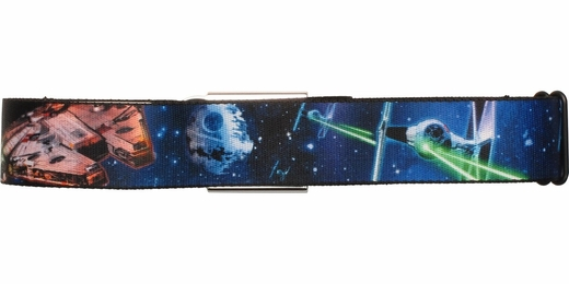Star Wars Millennium Falcon Chase Seatbelt Mesh Belt