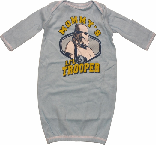 Star Wars Mommy's Trooper Infant Layette Gown