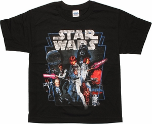 Star Wars New Hope Youth T Shirt