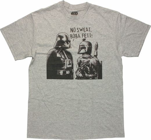 Star Wars No Sweat Boba Fett T Shirt