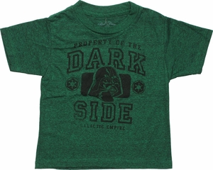 Star Wars Property of Dark Side Toddler T-Shirt
