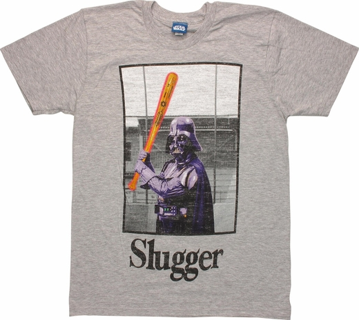 Star Wars Purple Vader Slugger T Shirt Sheer