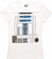 Star Wars R2-D2 Costume Juniors T-Shirt